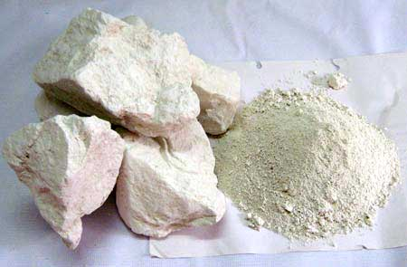 Professor Joseph Davidovits says kaolin clay is one of the most important ingredients in geopolymer.