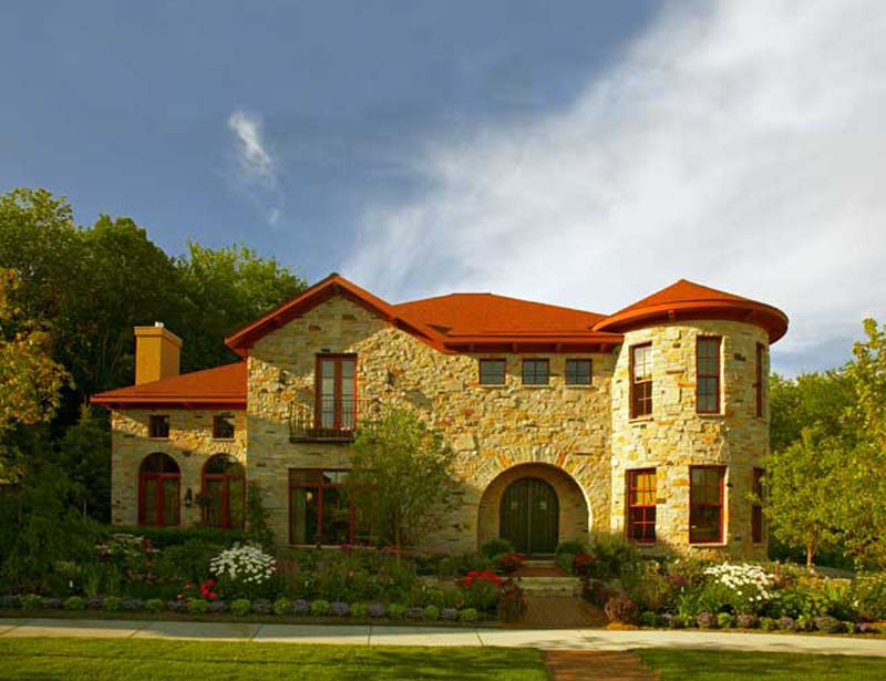 The timeless appeal of stone houses geopolymer house blog for Stone house plans
