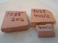 G.I.C. Ltd. geopolymer with brick debris