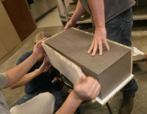'Green' Geopolymer Concrete Developed