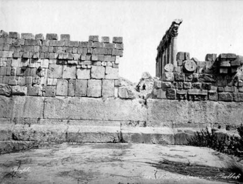 The Temple of Jupiter contains 27 limestone blocks unequaled in size anywhere in the world.