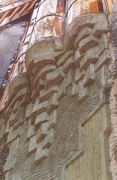 Ferrocement window detailing