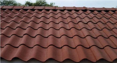 Micro concrete roofing tiles could be made with geopolymer