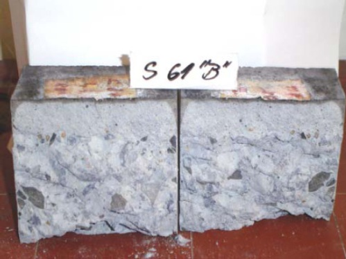 Incorrect mix, aggregate segregation and the mortar displaced towards the surface