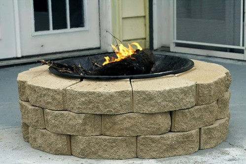 DIY firepit for $30