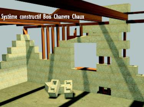 Easy Chanvre hemp block building system