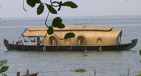 A house boat similar to this but with a shallow rooftop garden and solar panels would provide a very livable structure for a mobile, adventurous lifestyle.